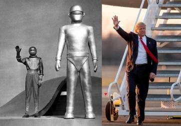 Donald Trump Waving